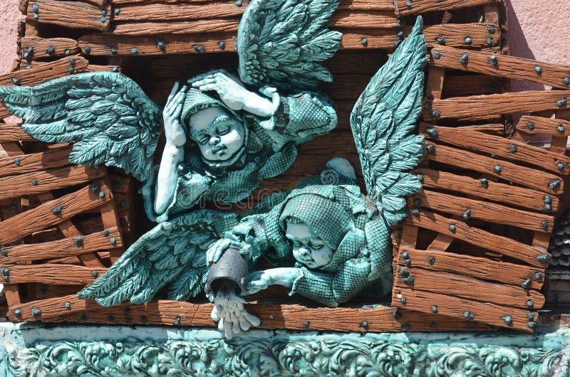 Kubańscy aniołowie zdjęcia royalty free
