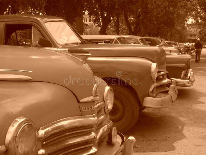 Kubańscy samochody zdjęcia stock