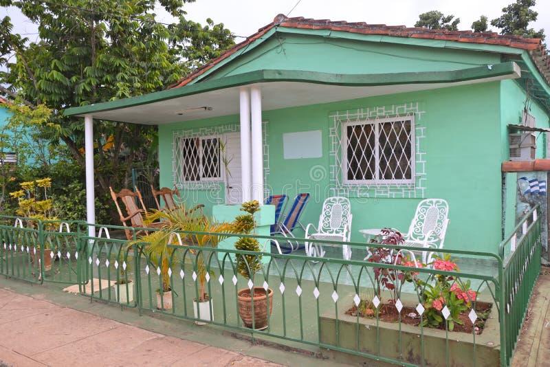Kubański dom na wsi obrazy royalty free