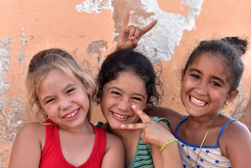 Kubański dziewczyna portret obraz stock