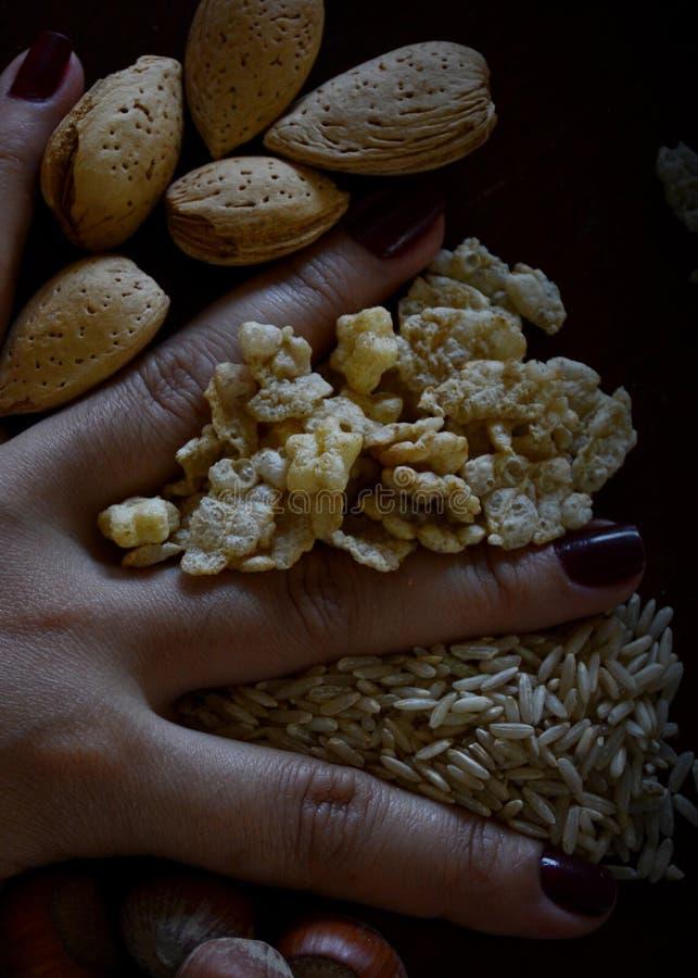 Kubański jedzenie W ciemnym karmowym trybie obrazy stock