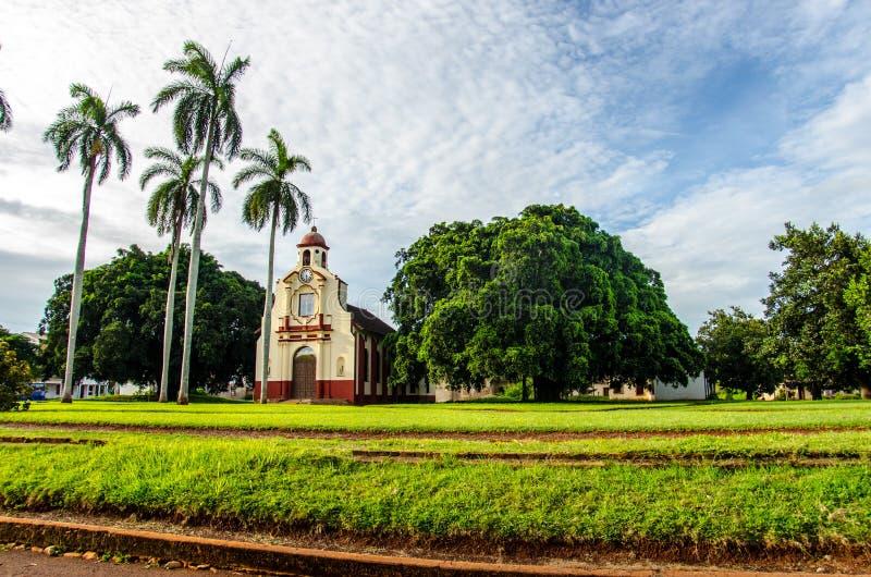 Kubański miasteczko obraz stock