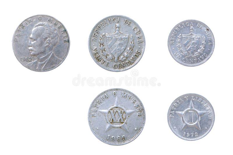 kubański monety starego obraz royalty free