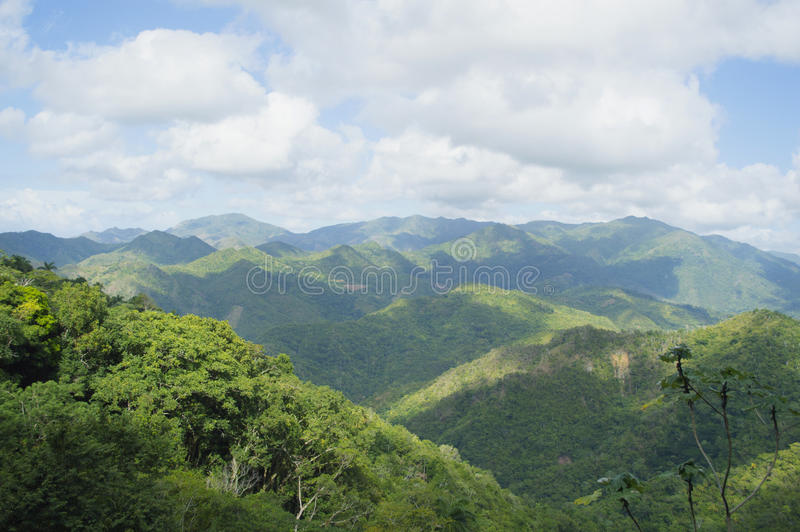 Kubańskie góry zdjęcie stock