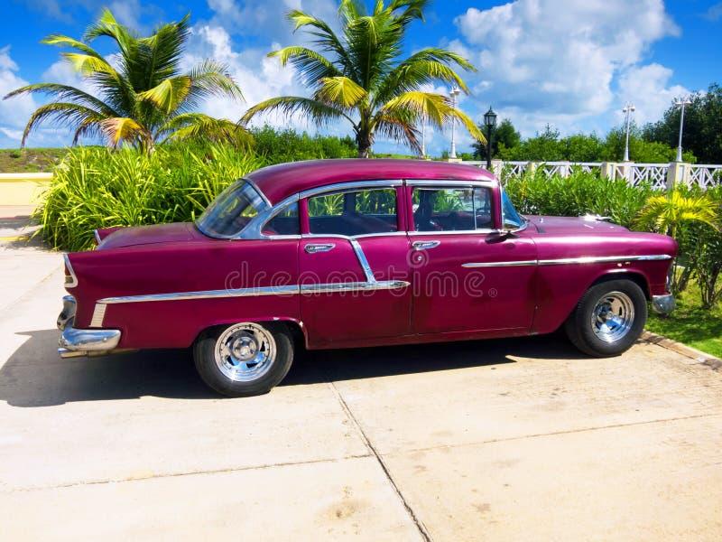 Kuba-Auto lizenzfreies stockfoto