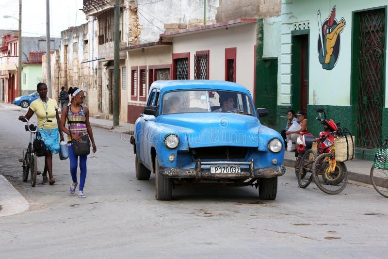 Kuba, Cardenas, Oldtimer obrazy stock