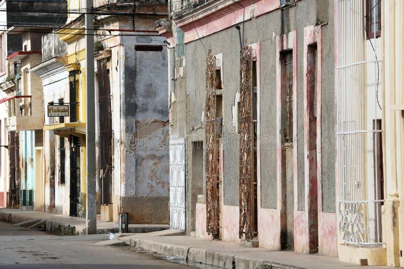 Kuba, Cardenas, streetscene obrazy stock
