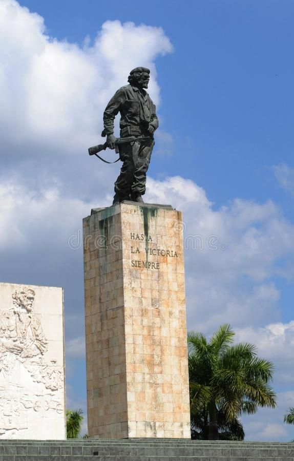 Kuba: Che Guevarra pomnik w Santa Clara fotografia royalty free
