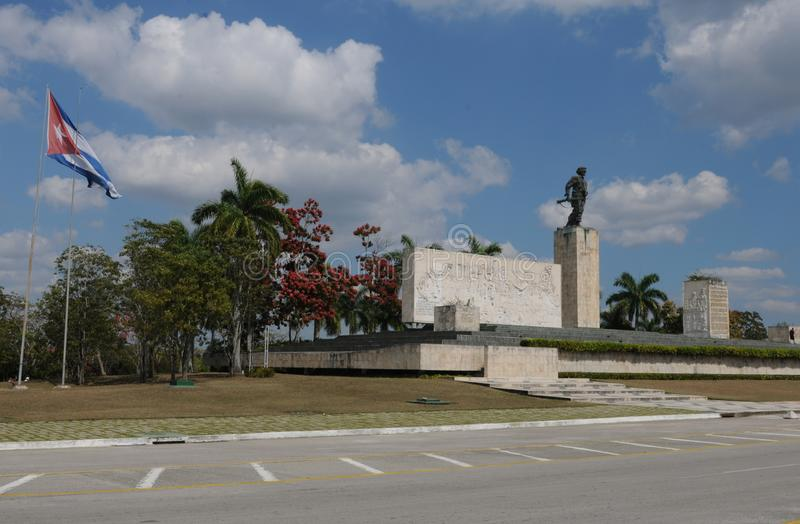 Kuba: Che-minnesmärke i Santa Clara arkivfoto