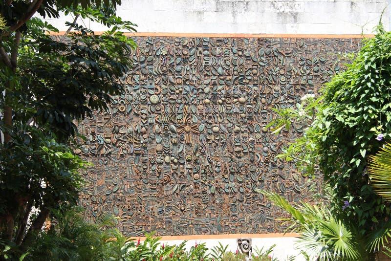 Kuba, Habana, Stadtzentrum Kunstmuseum stockbilder
