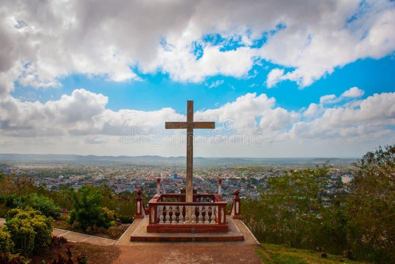 kuba Holguin: Loma de La Cruz de Holguin lizenzfreies stockbild