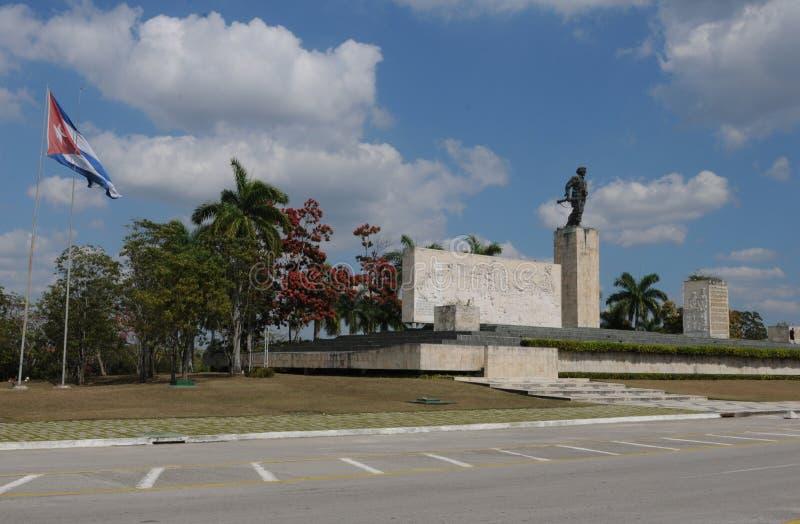 Kuba: pomnik w Santa Clara zdjęcie stock