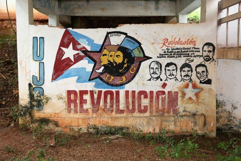 Kuba Revolucion royaltyfria foton