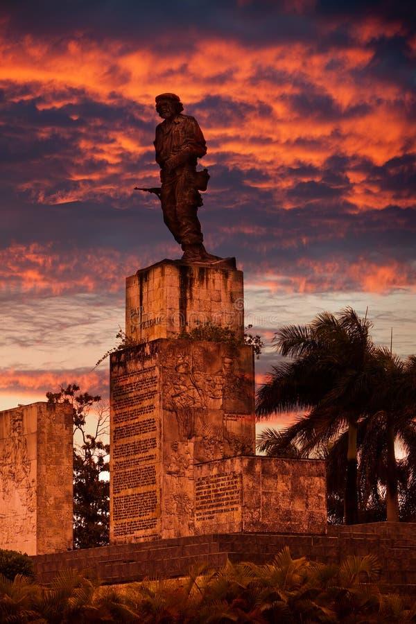 Kuba Santa clara Pomnikowy Che Guevara obrazy royalty free