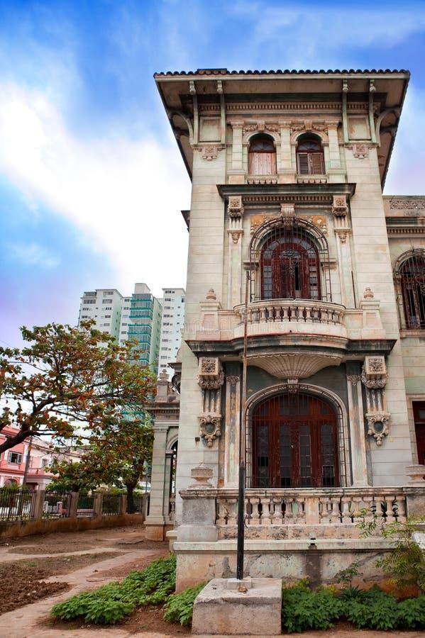 Kuba. Stary Havana.Cityscape w słonecznym dniu zdjęcie royalty free
