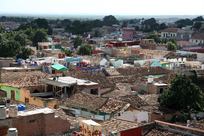Kuba Trinidad, takblast royaltyfri fotografi