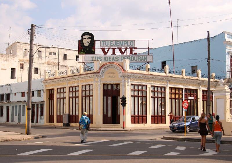 Kuba znak z Che zdjęcia stock