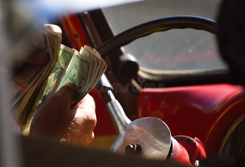 Kubanen taxar arkivfoto
