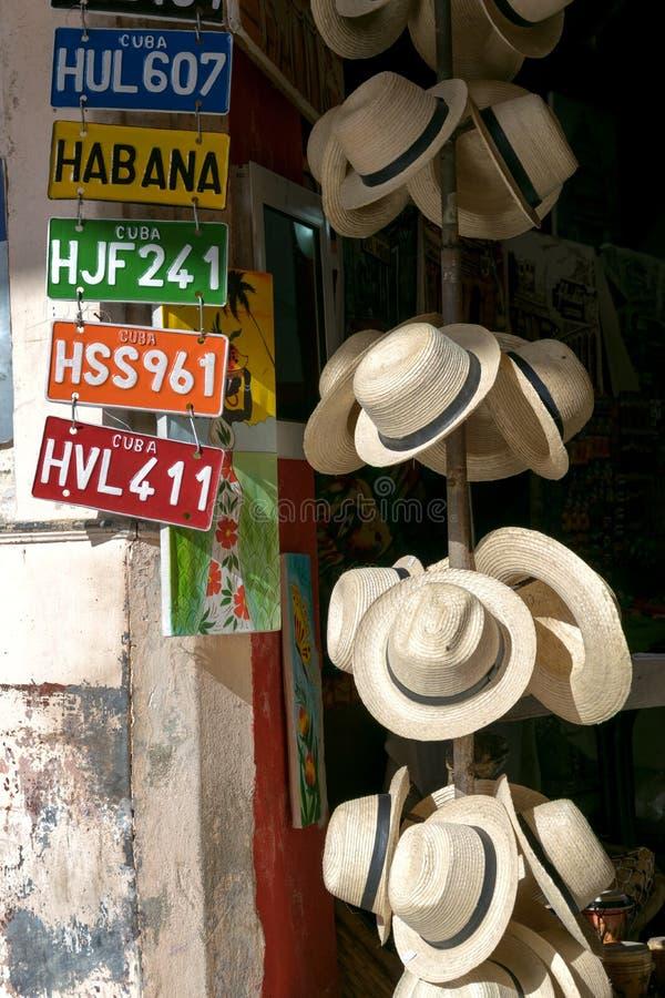 Kubanische Andenken stockbilder