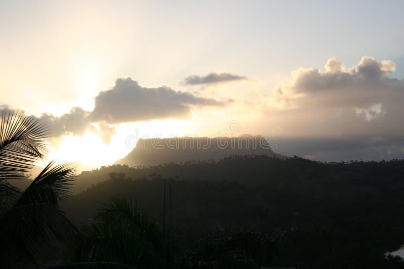 Kubanische Ansicht von barbacoa lizenzfreies stockfoto