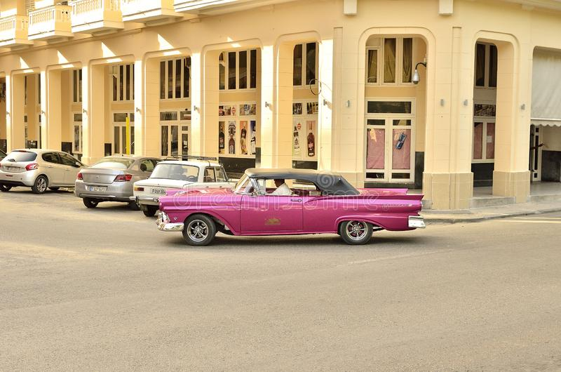 kubanische Autos V stockfoto