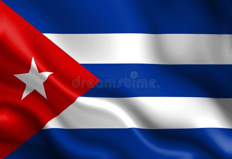 Kubanische Flagge vektor abbildung