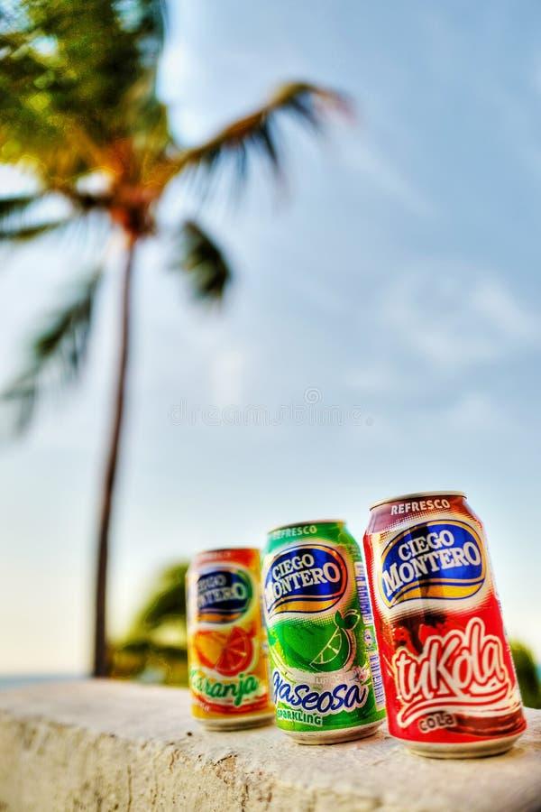 Kubanische Getränke redaktionelles stockfotografie. Bild von koks ...