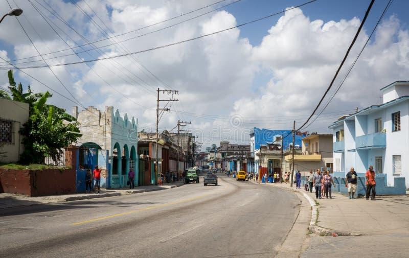 Kubanische Straßen-Szene stockfotografie
