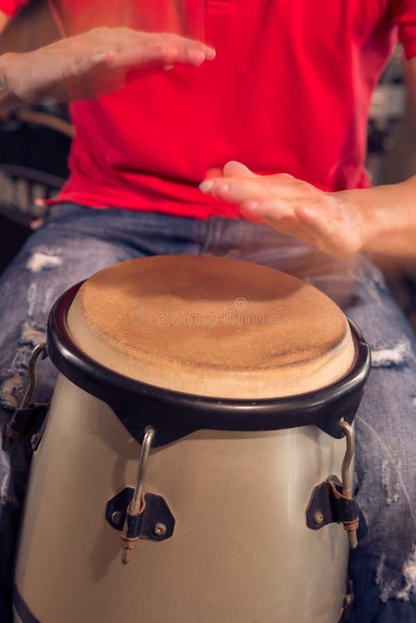 Kubanische Trommel stockbilder