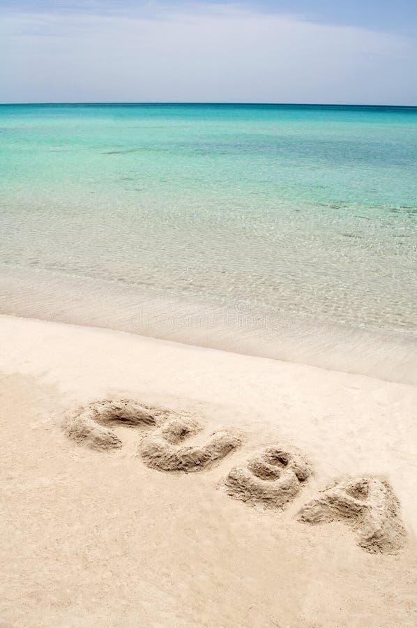 Kubanischer Strand. lizenzfreies stockfoto