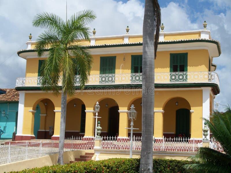 Kubansk byggnad fotografering för bildbyråer