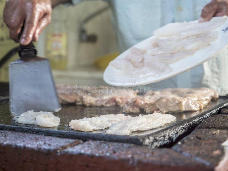 Kubansk kokkonst royaltyfri fotografi