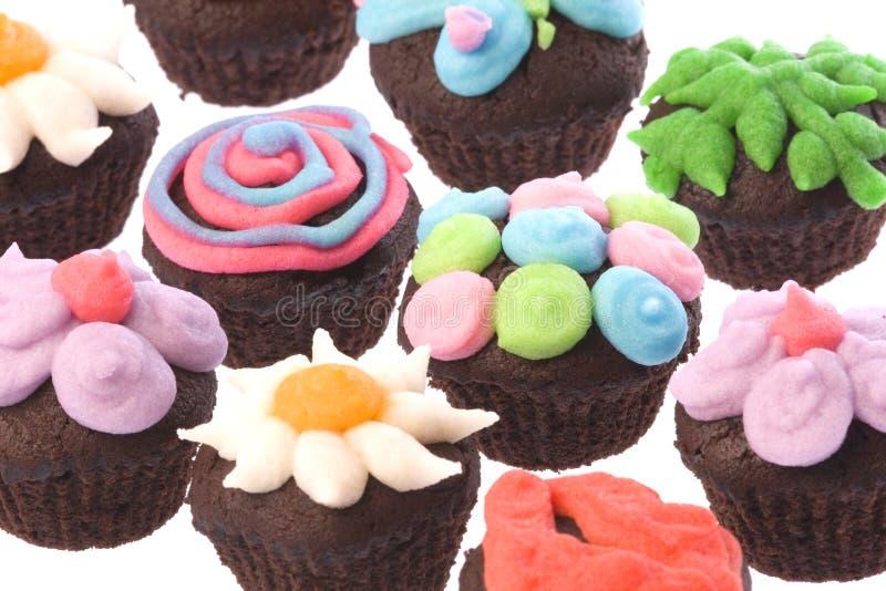 kubek ciastek wyizolowanego obrazy stock