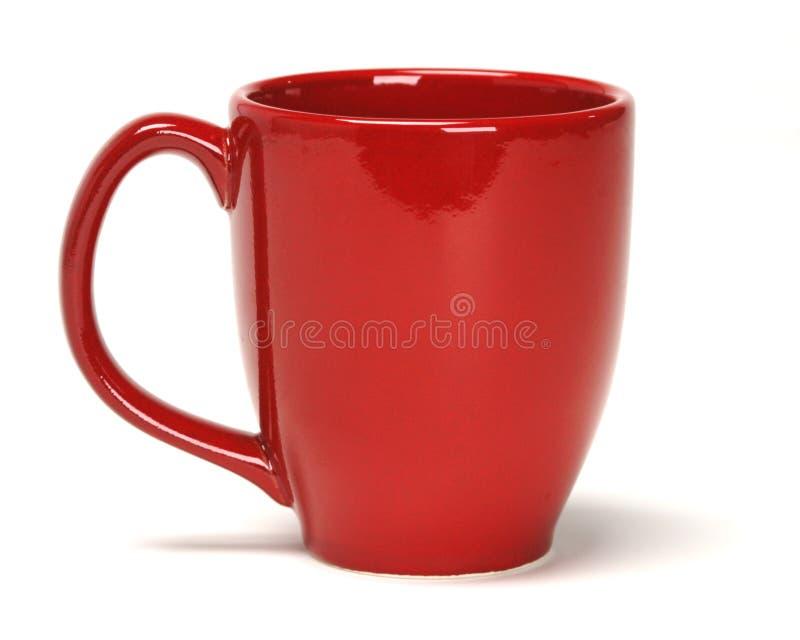 kubek czerwony zdjęcie royalty free
