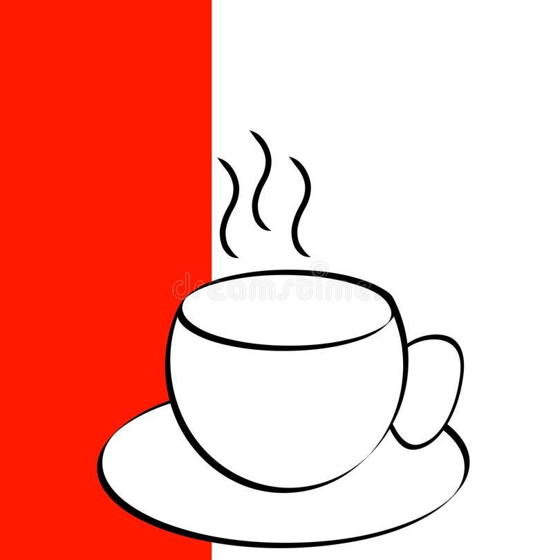 kubek kawy ilustracji