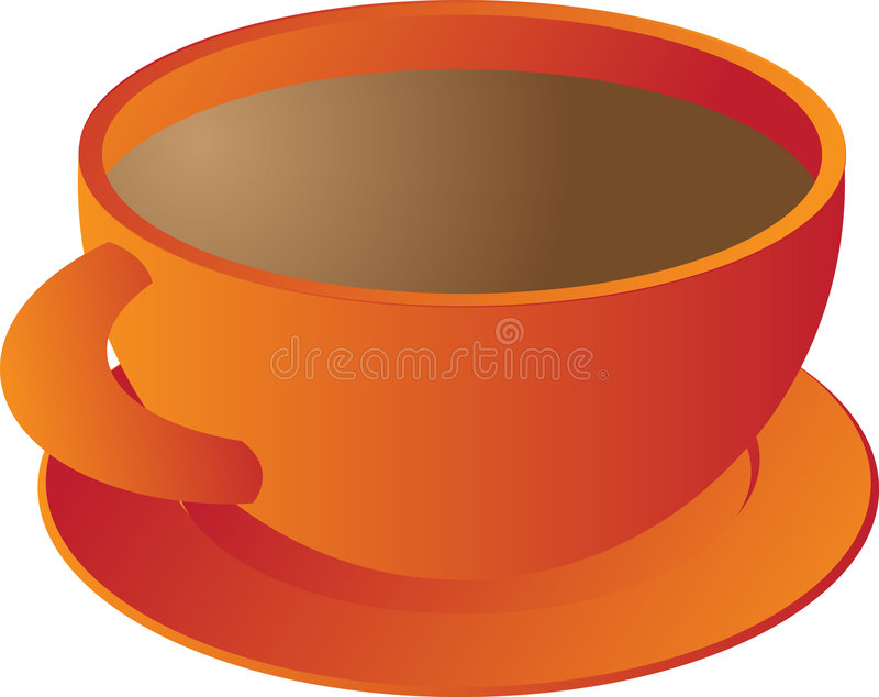 kubek kawy royalty ilustracja
