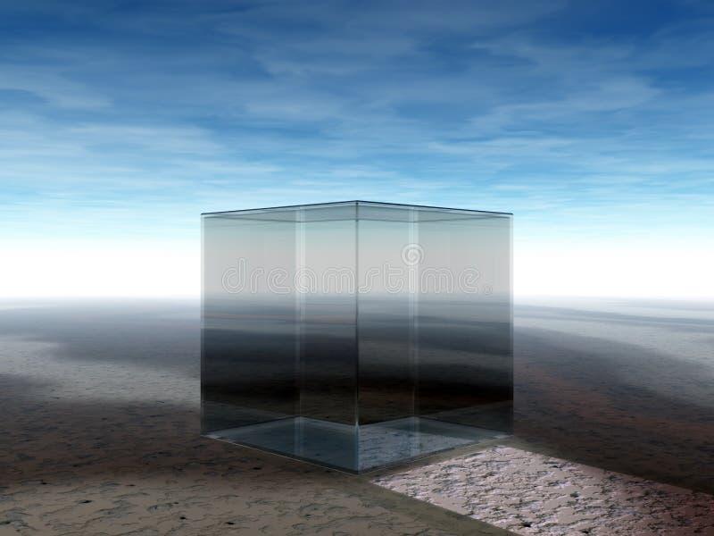 kubexponeringsglas vektor illustrationer