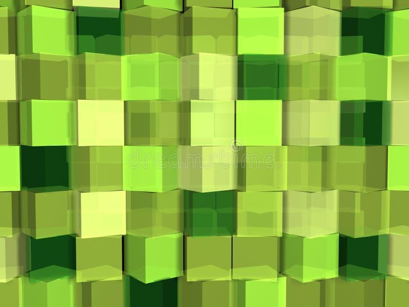 kubgreen arkivbilder