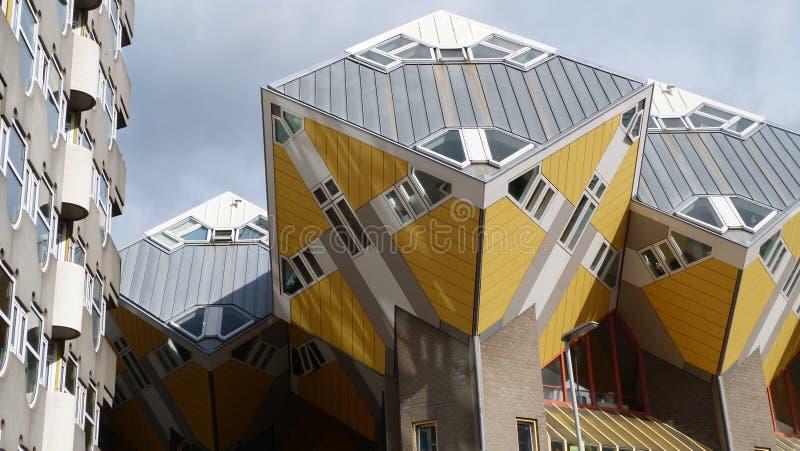 Kubiczny Domowy Piet Blom Rotterdam Holandia zdjęcie stock