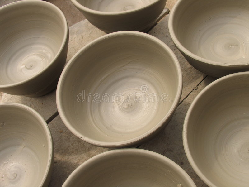 kubki ceramiczne zdjęcia stock