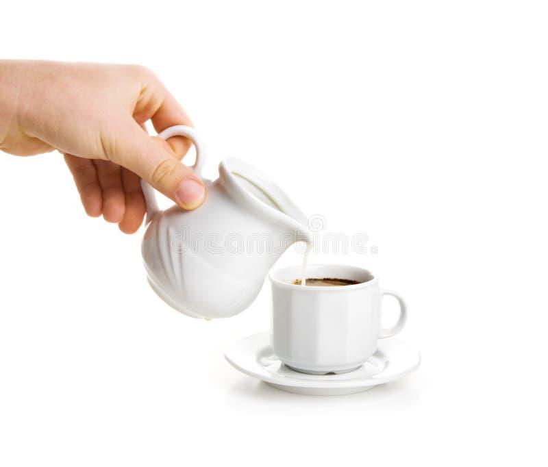 kubki mleka zdjęcia royalty free