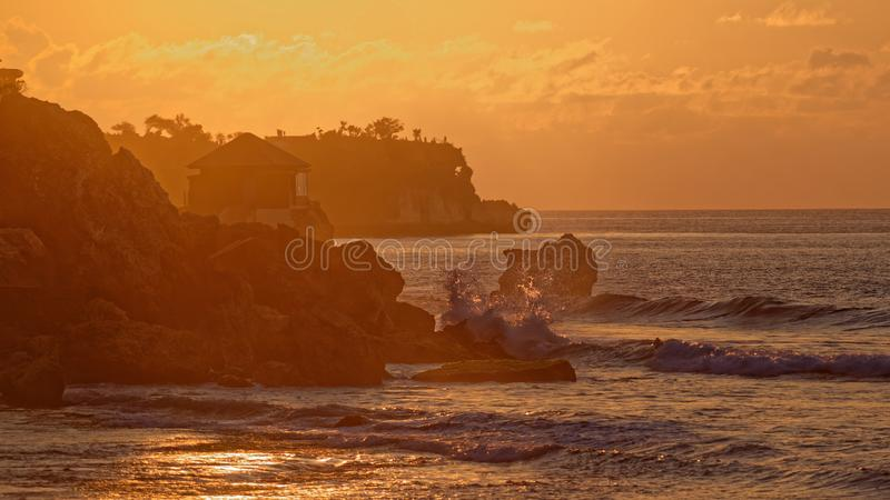 Kubu海滩 库存照片