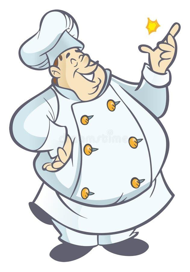 kucharz ilustracji