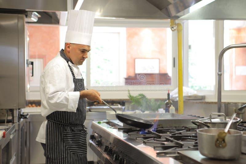 kucharz obraz stock