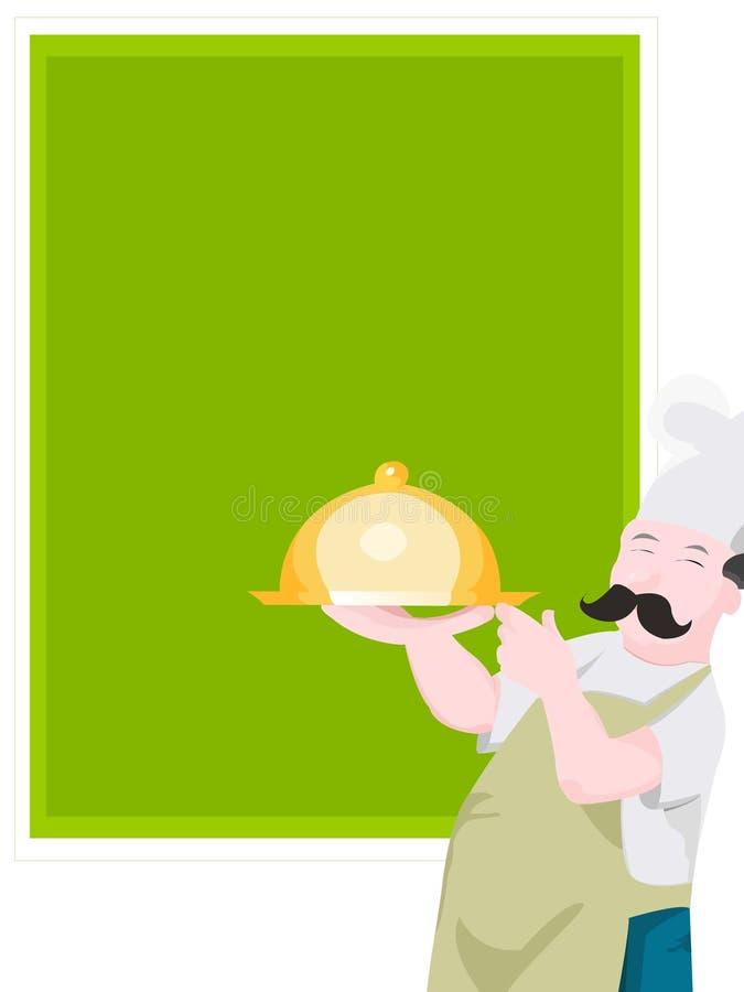 kucharz statku ilustracji