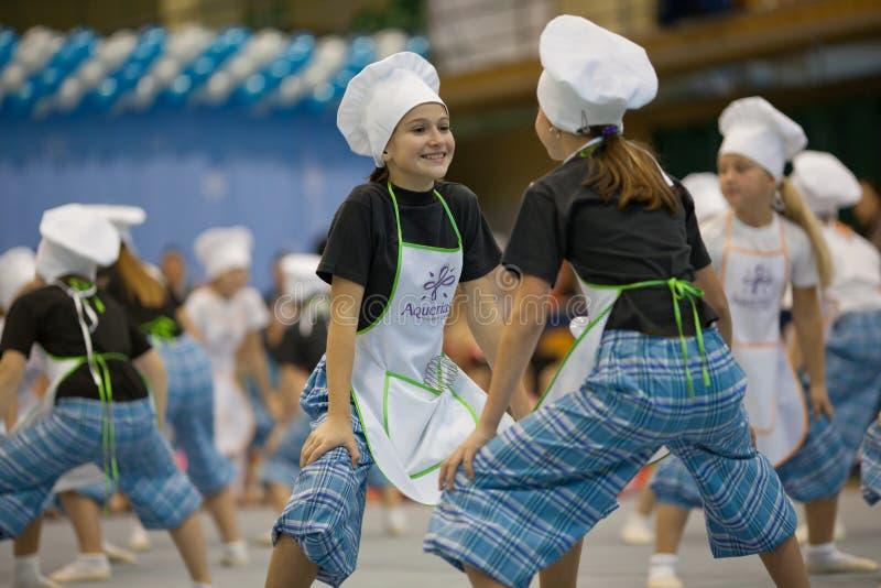 kucharza taniec obrazy royalty free