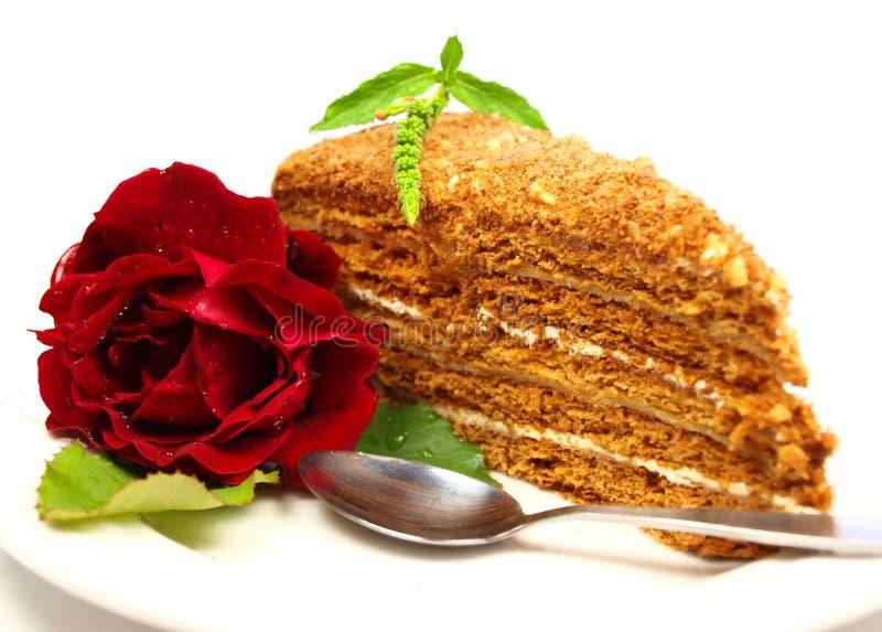 Download Kuchen stockbild. Bild von orange, stieg, bunt, banane - 12200547
