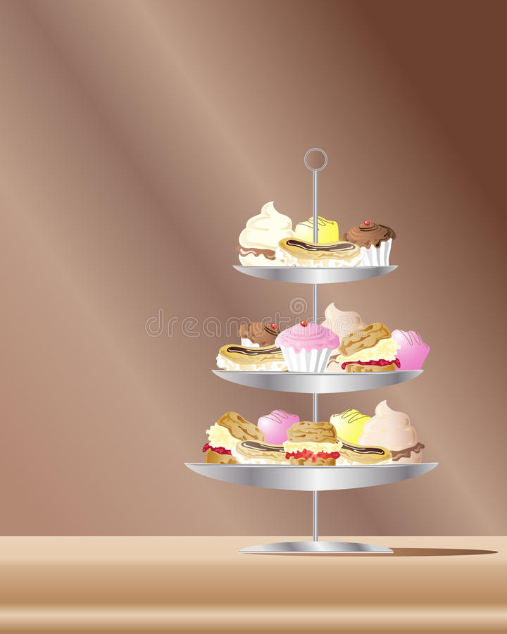 Kuchen vektor abbildung