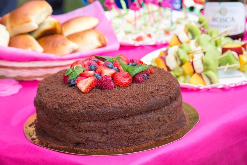 Kuchen stockbild