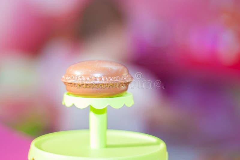 Kuchen der süßen Schokolade lizenzfreie stockfotografie
